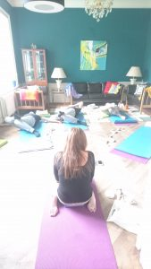 Yoga i Villaen