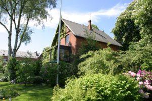 Positivgruppens Villa på Frederiksberg. Et værested for hiv-positive bøsser og biseksuelle mænd.