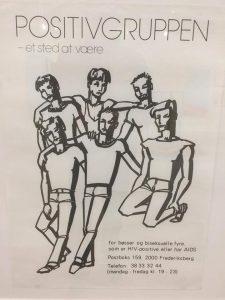 Positivgruppens første plakat fra 80'erne